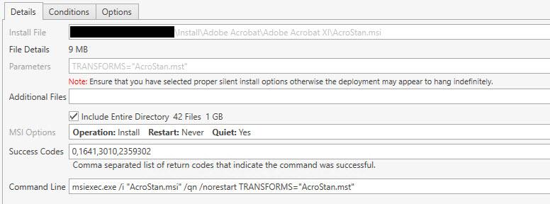 Deploying Adobe Acrobat XI Standard - PDQ com