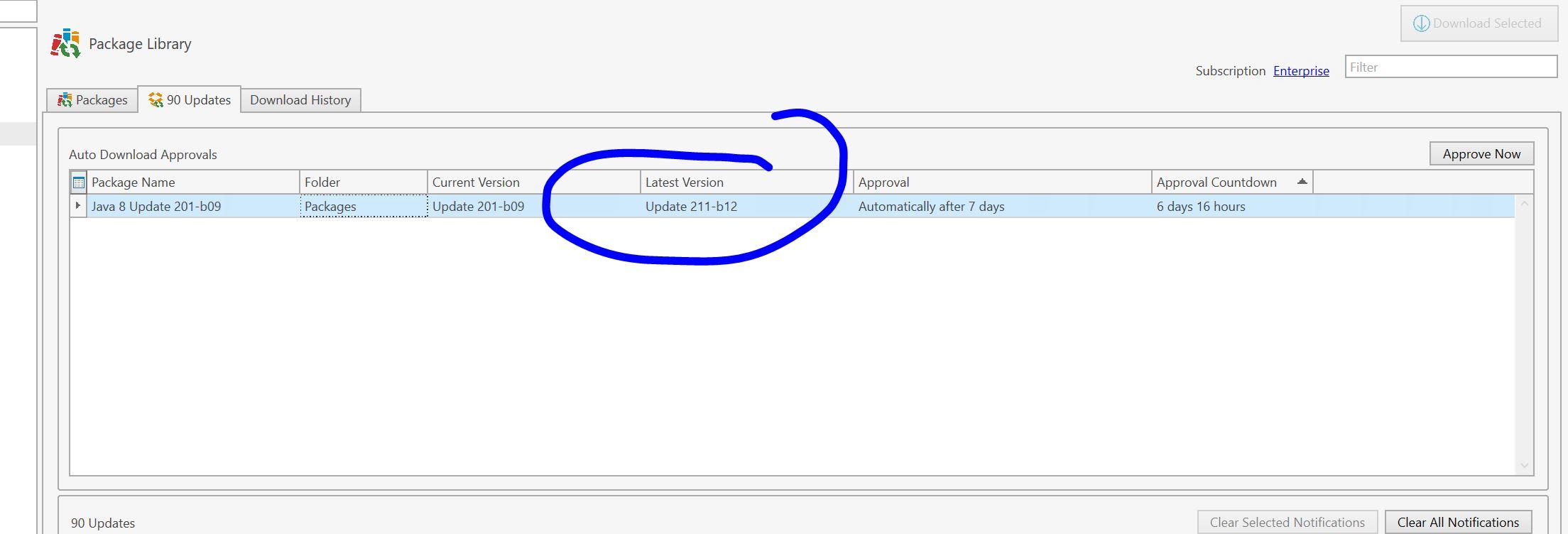 Java 8 Update 211 - PDQ com