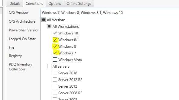 Use PDQ Deploy to push In-Place Windows 10 Upgrade - PDQ com